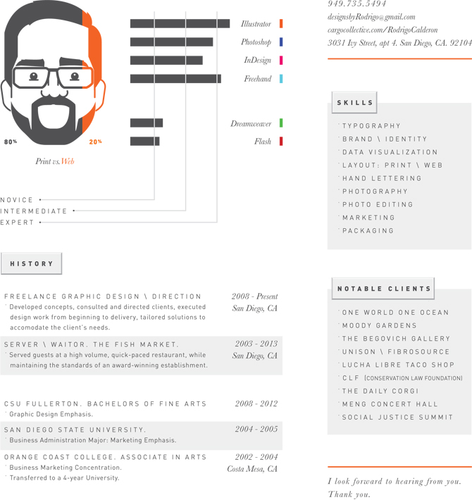 resume freelance graphic designer sample