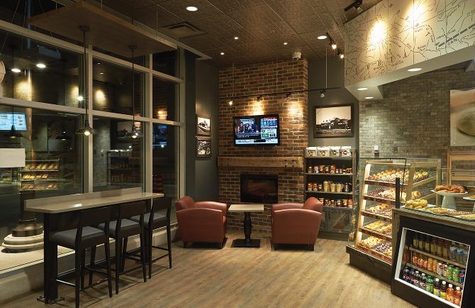 Tim Hortons Store Design Sasha Andersen Design